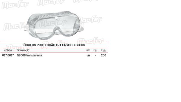 Óculos Protecção