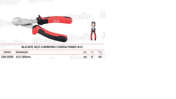 Alicate Aço Carbono Corda Piano A13