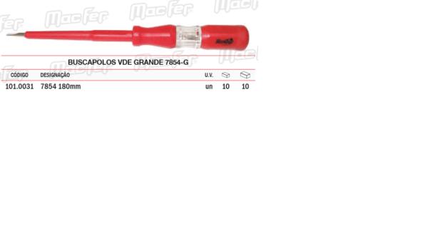Buscapolos VDE Grande 7854G