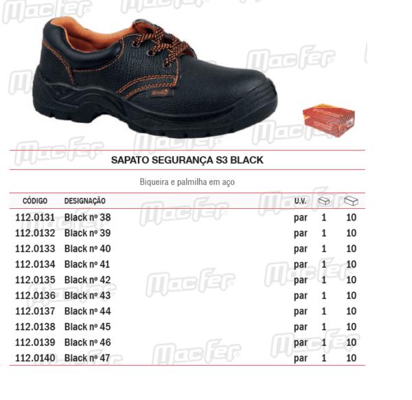 Sapatos de protecção