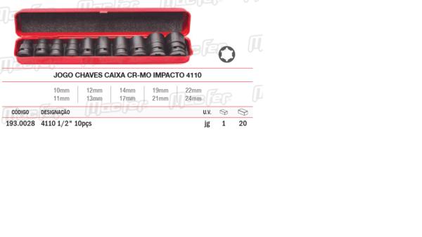 Jogo Chaves Caixa CR Mo Impacto 4110
