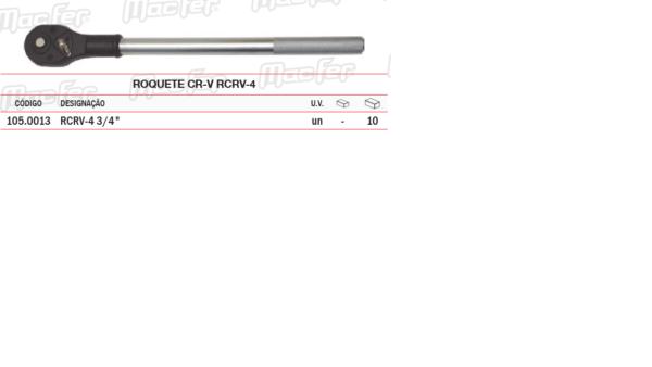 Roquete CR V RCRV4 3/4