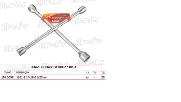 Chave Rodas Em Cruz 1101 1