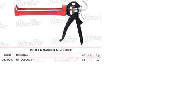 Pistola Mastick MF CG006C