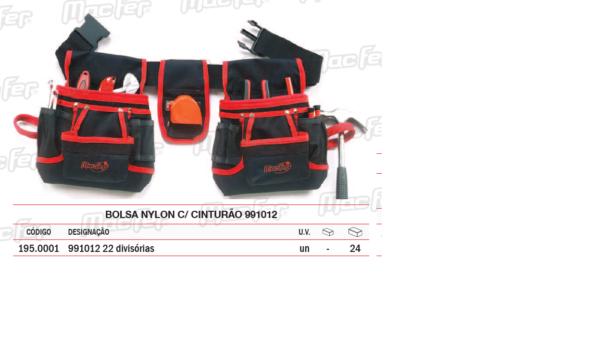 Bolsa Nylon Com Cinturão 991012