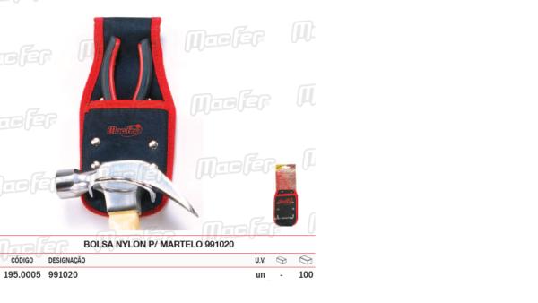Bolsa Nylon Para Martelo 991020