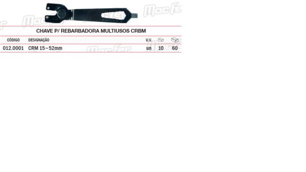 Chave Para Rebarbadora Multiusos CBRM